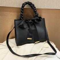 Black Fashion Casual Solid Bag Crossbody Bag