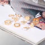 Multi Fashion Casual Diamond Ring Ten Set