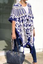 As Show Polyester Chiffon cardigan Half Sleeve Print Split  Vests & Waistcoats