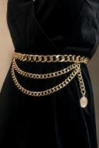 Gold Retro Sexy Personality Pendant Waist Chain
