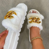 White Sexy Split Joint Opend Out Door Shoes