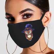 Blue Black Fashion Casual Print Mask