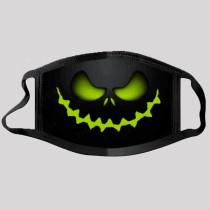 Green Street Punk Print Split Joint Mask