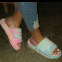 Colour Casual Round Shoes