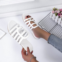 White Casual Street Hollowed Out Split Joint Opend Comfortable Out Door Shoes