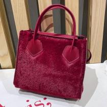 Wine Red Fashion Casual Solid Patchwork Crossbody Bag