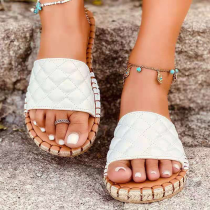 White Casual Street Split Joint Opend Out Door Shoes
