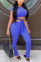 Blue Two Pieces