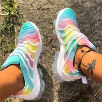 Colour Fashion Casual Split Joint Out Door Sports Shoes