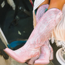 Pink Fashion Pointed Out Door Shoes