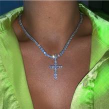 Silver Fashion Casual Pendant Necklace