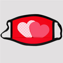 Red Fashion Casual Print Dustproof Face Protection