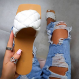 White Casual Street Split Joint Opend Comfortable Out Door Shoes