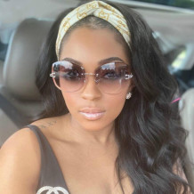 Black Fashion Casual Solid Long Curly Wigs