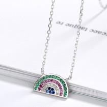 Silver Fashion Rhinestone Necklaces