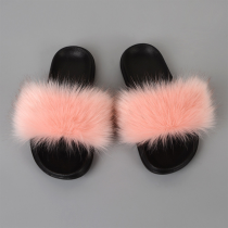 Pink Sexy Street Split Joint Opend Comfortable Out Door Shoes
