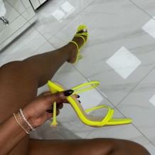 Green Sexy Casual Cross Straps Solid Color Opend Out Door Shoes