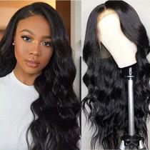 Black Fashion Casual Solid Hign-temperature Resistance Wigs