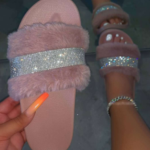 Pink Daily Hollowed Out Opend Shoes