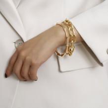 Gold Fashion Solid Bracelets
