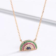 Rose Gold Fashion Rhinestone Necklaces