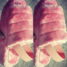 Pink Casual Round Shoes