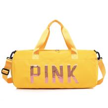 Yellow Casual Sportswear Hot Drilling Split Joint Zipper Bags