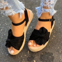 Black Casual Hollowed Out Split Joint Opend Out Door Shoes