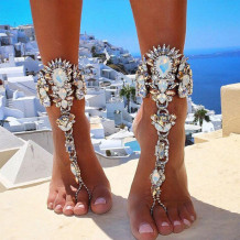 Silver Fashion Personality Anklet Jewellery (Not A Pair)