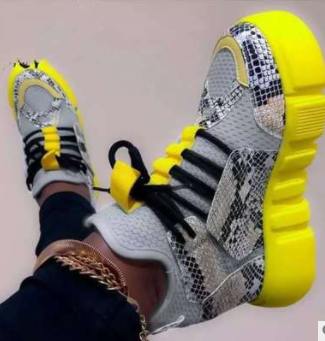 Dark Gray Fashion Street Sportswear Frenulum Round Comfortable Sport Shoes
