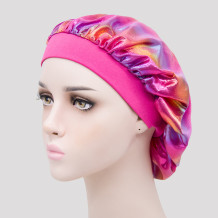 Rose Red Casual Living Print Split Joint Hat