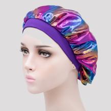 Purple Casual Living Print Split Joint Hat