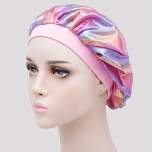 Pink Casual Living Print Split Joint Hat