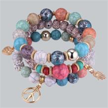 Colour Bohemian Patchwork Bracelets
