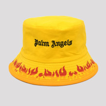 Yellow Fashion Casual Letter Embroidery Printing Hat