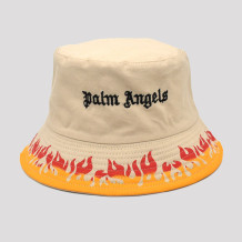 Khaki Fashion Casual Letter Embroidery Printing Hat