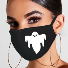 Black White Fashion Casual Print Mask