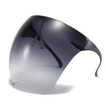 Grey Fashion Gradual Change Gradient Black Sunglasses