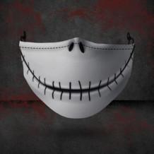 Light Gray Fashion Casual Print Split Joint Mask
