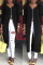 Euramerican Zipper Design Black Twilled Satin Coat