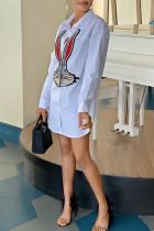 Fashion Rabbit White Shirt Dress