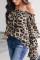 Fashion Casual Chiffon Leopard Print Tops