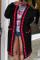 Casual Stitching Long Sleeve Black Cardigan Coats