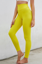 Sexy Fashion Skinny Yellow Track Pants