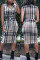 Sexy Fashion Printed Multicolor Sleeveless Dress