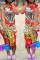 Red Fashion Sexy Regular Sleeve Short Sleeve O Neck Printed Dress Knee Length Print Dresses