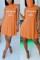 Blue Fashion Casual Off The Shoulder Sleeveless O Neck Printed Dress Mini Print Dresses