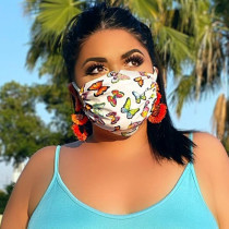Butterfly Casual Basic Dustproof Face Protection