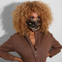 Camouflage Casual Basic Dustproof Face Protection