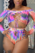 Pink  Two Piece Suits Gradient Fashion Sexy adult Ma'am Swimwears